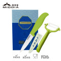 Ceramic Fruit Cutter Knife with Peeler Set for The Best Promotion Gift