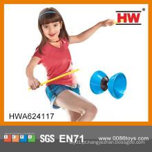 Crianças Jogo De Esportes Ao Ar Livre Plastic Juggling Diabolo Com Luz