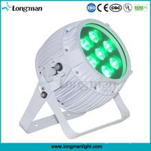 Rgbawuv 6in1 DMX drahtloses batteriebetriebenes Mini-LED-Scheinwerferlicht