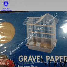 easily clean and hygienically 43*28cm environment-friendly pet bird gravel paper