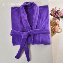 Wholesale Fleece Robe Plus Size Bathrobe
