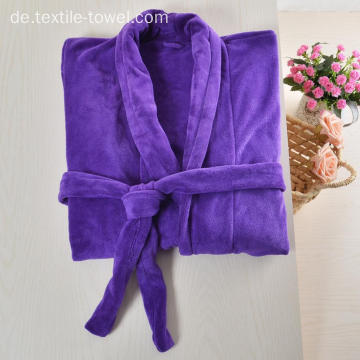Großhandel Fleece Robe Plus Size Bademantel