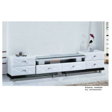 White TV Stand with MDF Drawer in Living Room (H225)
