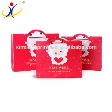 Подгонянный Цвет Оптовая продажа красочные необычные складной подарочные бумажные коробки и пакеты для Нового Года