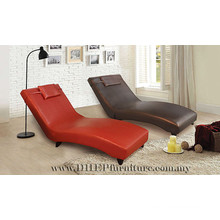 Adjustable Back Rest Relaxing Chair, Chaise Lounge with Footrest