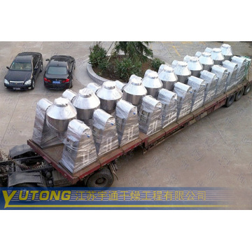 double cone rotating vacuum dryer for Custard Powder