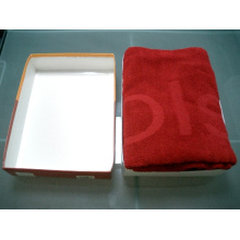 Toalla de algodón caja de regalo (SST)