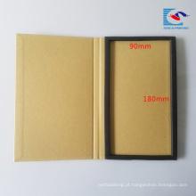 capa dura pacote de protetor de tela de papel ofício marrom