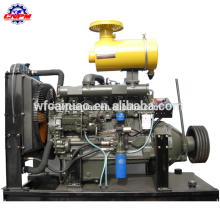 4 stroke 70kw diesel engine with clutch R6105P for water pump