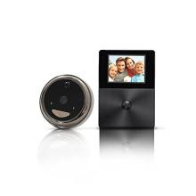 Высокой четкости глазок кольцо видео дверной звонок беспроводной с монитором LCD экран Интерком