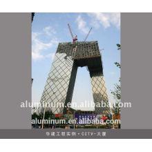 Parede de cortina de alumínio
