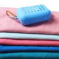 Pano de microfibra para refrigeração de toalha esportiva personalizado