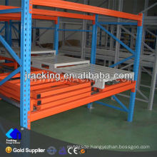 Galvanized steel shelving,Grates and shelves quality push back racking