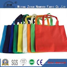 Tissu non tissé respirable de Spunbond de pp de sacs à provisions de mode de supermarché