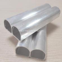 D - Tuyaux soudés à haute fréquence en aluminium de type D