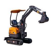 Farm machinery mini digger XN16 1.5ton excavator sale