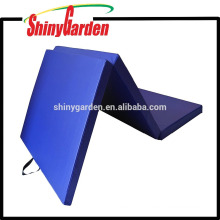 PVC Basics Normal PVC Gym Mat and Exercise Mat Three Fold Gym Mat in 40mm*1200mm*1800mm