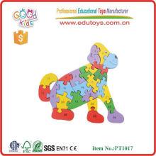 2015 bricolage puzzle coloré pour les enfants