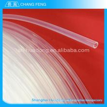 Tubo de teflón de transparente altamente resistente a la temperatura de ptfe tubo/Virgen ptfe tube/durable100% ptfe puro