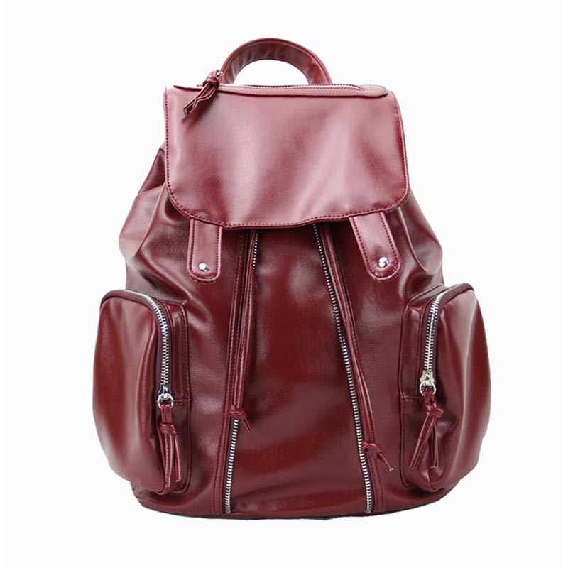 Stylish Women PU Leather Backpacks