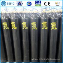 Cylindre d'azote à haute pression en acier sans couture 50L (EN ISO9809)