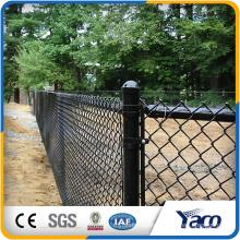 cyclone fence woven mesh diamond shape chain link fence wholesale chain link fence price for sale
