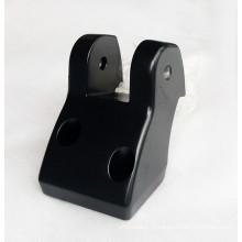 часть заливки формы точности с черным покрытием брызга