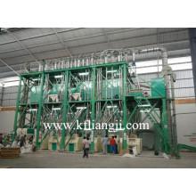 Moinho de farinha de trigo compacto 60-150tpd