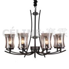 Lámpara colgante de la promoción de la cantidad grande con la cortina de cristal (SL2246-8)