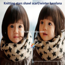 New Arrival cashmere+wool neck warmer/shiny magic knitted scarf