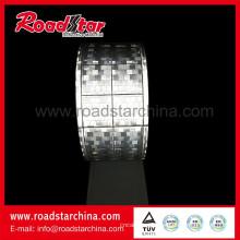 Призматический ретро, светлый светоотражающий материал ленты ПВХ