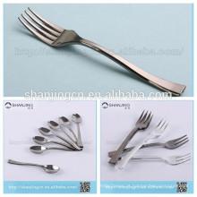 Tipo de talheres e plástico descartável Material colher de prata