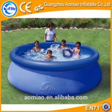 Piscine gonflable hydromassante de haute qualité, piscine gonflable pour enfants