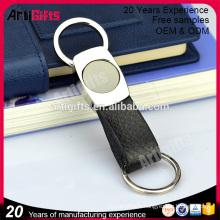Bonne qualité en cuir boucle magnétique porte-clés pour les hommes