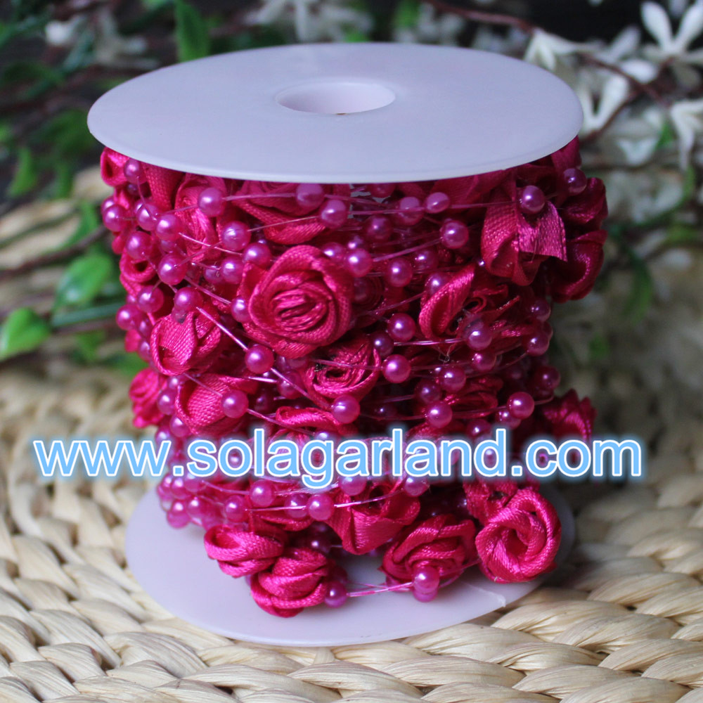 Rose Flower Bead Garland