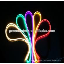 Mise à jour imperméable 2835 120Leds / M 332ft / roll 110V a mené la lumière au néon pour le décor extérieur ou l'usage commercial