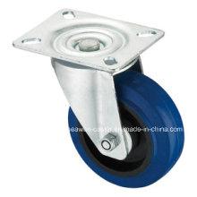 Упругая резиновая верхняя пластина Поворотная синяя эластичная резиновая литейная машина