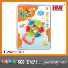 Chocalho plástico do bebê do projeto novo quente da venda