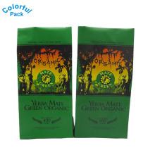 Sacos de empacotamento personalizados do reforço do lado do selo do quadrilátero da folha de alumínio da venda por atacado da fábrica para o café