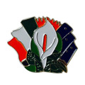Irish Rebellion Gedenk Ostern Lily Emaille Pin