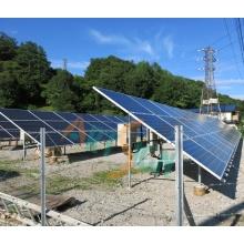 Solar PV-Freilandanlage mit direkt begraben Rohr