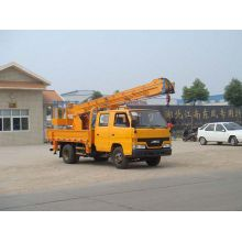 New JMC suspended elevated safe working platforms vehicle