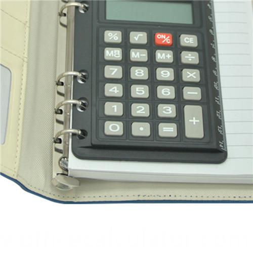 organizer diary notebook with calculator