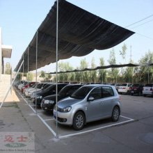 Round Wire Material HDPE Sun Shade Net