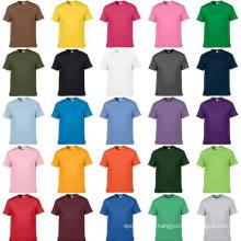 2017 nouveau design personnalisé t-shirt sublimation impression polyester chemise simple
