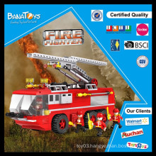 Special Offer! China block factory diy educational toy bricks for kid fire rescue toys