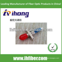LC Masculino para ST Fêmea Fibra Óptica Hybrid Adapter simplex