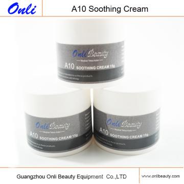 Natürliche A10 Anästhesie Creme für Haut Nadel Behandlung Permanet Make-up Beruhigende Creme