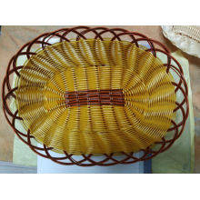 Hot Sell Rattan Wicker Kunststoff Brotkorb