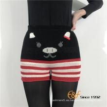 Pantalones cortos de las polainas atractivas de las mujeres del fabricante en China